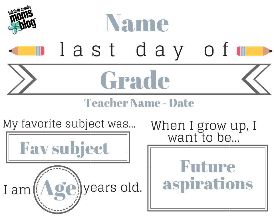 graphic relating to Last Day of School Printable named Nearly Summertime :: Final Working day of Faculty Printable Customizable!