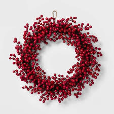 Target Christmas Red Berry Artificial Wreath