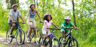 family-friendly bike trails